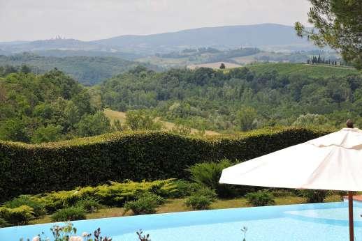 La Casa Rossa - Beautiful historic estates and wineries just a stone's throw from La Casa Rossa.