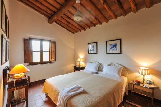La Casa Rossa - The second twin bedroom.