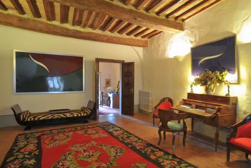 La Fattoria di Sarteano - Contemporary art work in the second sitting room