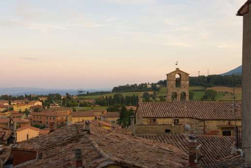 La Fattoria di Sarteano - The roof tops of Sarteano