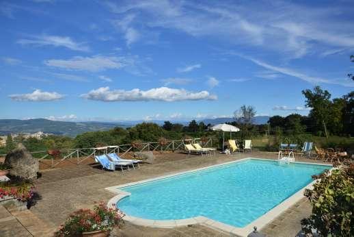 La Grande Quercia - La Grande Quercia, 3km/2 miles from Orvieto. Umbria.