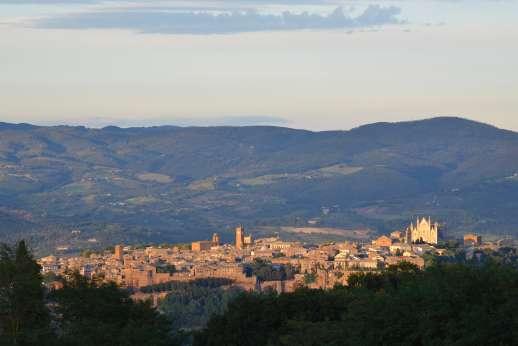 La Grande Quercia - A wonderful view of Orvieto.