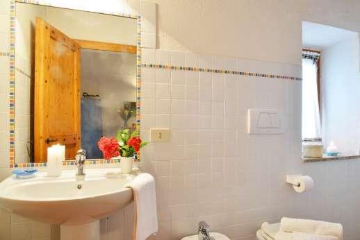 La Grande Quercia - An en suite bathroom.