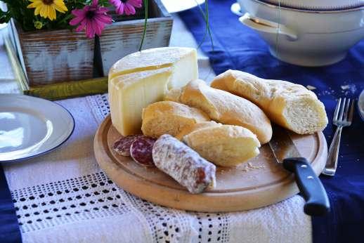La Grande Quercia - Umbria, culinary delights.
