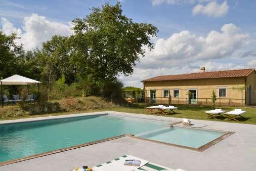 La Magione - La Magione sits on a gentle hillside at the western edge of the Chianti Classico region