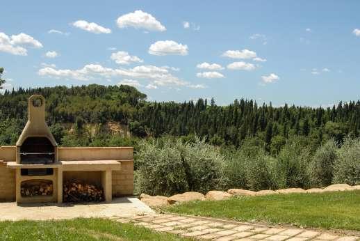 La Magione - Built-in barbecue enjoying amazing views