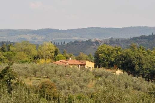 La Magione - La Magione set in the San Gimignano hills.