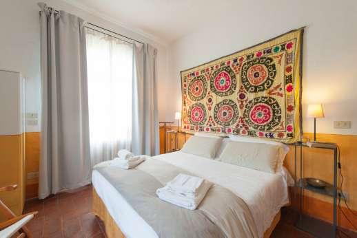 La Magione - A double bedroom.