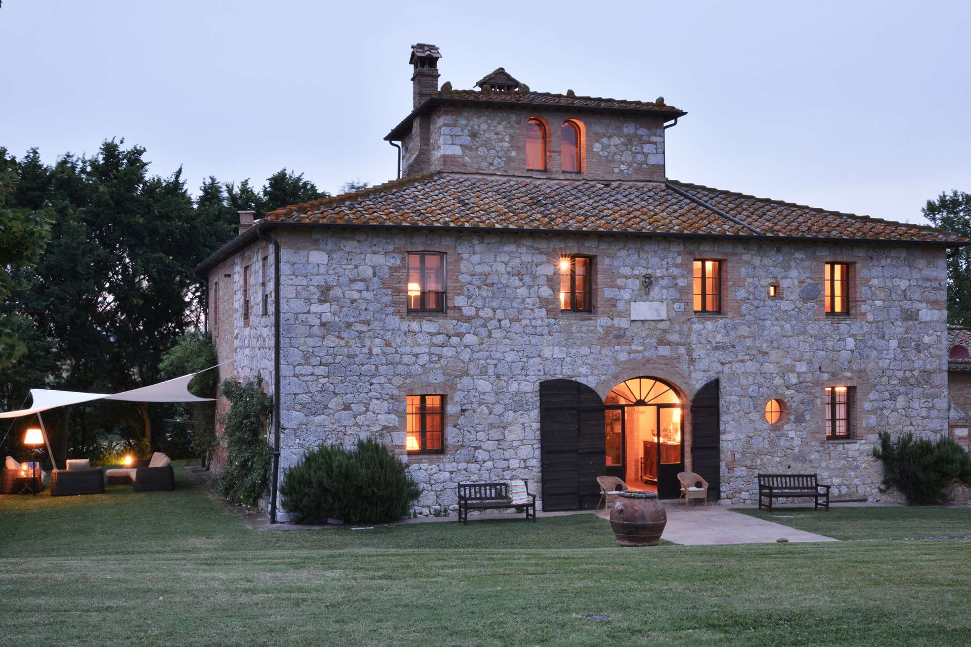 Villas Near Siena Italy la piana | 11 bed luxury villa with pool | siena | tuscany
