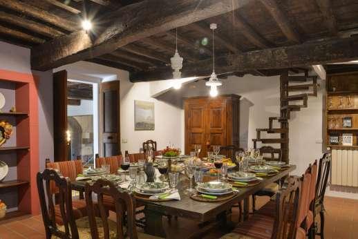 La Tegolaia - The dining room.