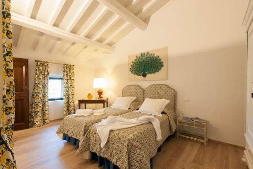 La Tegolaia - Twin bedroom.