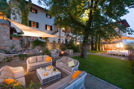 La Villa di Petroio, Rufina is 7km/4 miles away, near Florence. Tuscany.