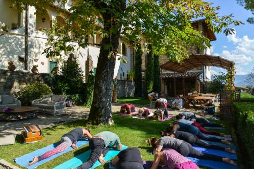 La Villa Di Petroio - Yoga retreat taking place at the villa