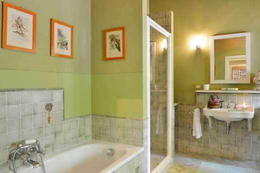 La Villa Di Petroio - Bathroom is on the second floor of the main house.