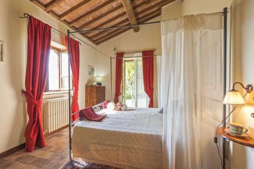 Le Gorgacce - Double bedroom.