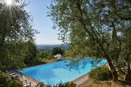 Limonaia - The pool enjoys views of the surrounding countryside.