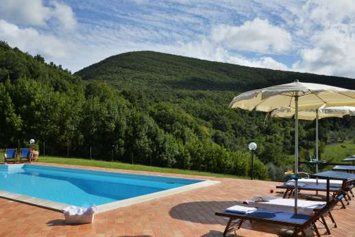 Montaspro - The pool and the well furnished terrace, perfect for the warm summer months.