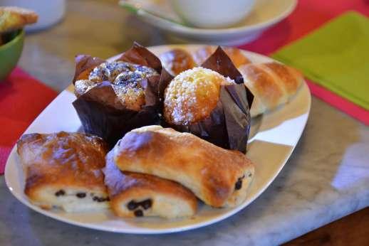 Monterosa - Breakfast continental style.