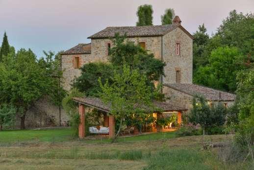 Pergoletto - Pergoletto, Montegiove, North of Orvieto, Umbria.