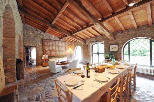 Pergoletto - The dining area.