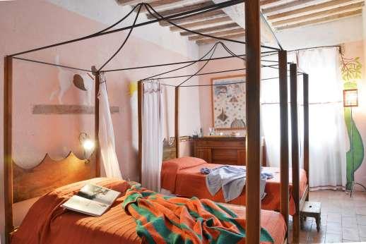 Pergoletto - The twin bedroom.