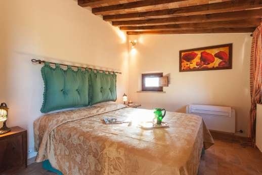 Podere Casalfava - Double bedroom