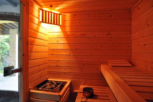 Podere Celli - The Sauna!