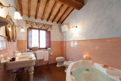 Podere Celli - An en suite bathroom.
