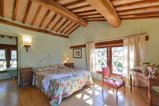 Podere Celli - Guest house, double bedroom.