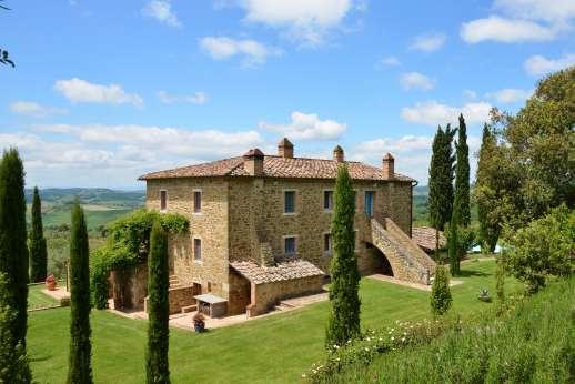 Podere Spiritellino - Podere Spiritellino, Rapolano Terme, near Siena, Tuscany.