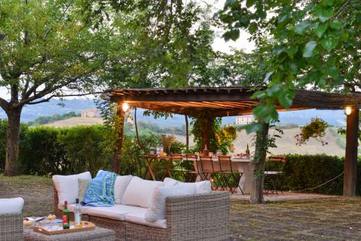 Poggio Alto - Spend the cool evenings living outdoors