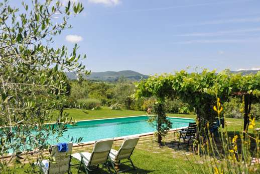 Poggio Alto - The pool and surrounding garden make Poggio Alto such a peaceful place.