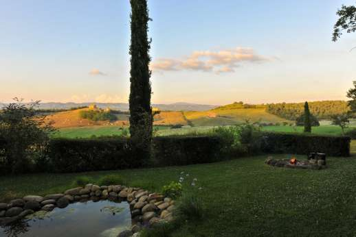 Poggio Alto - Zen garden and view