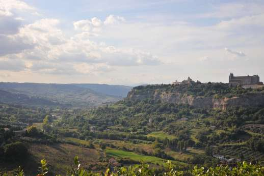 San Gabriele - Breathtaking views of the countryside and the Duomo of Orvieto.