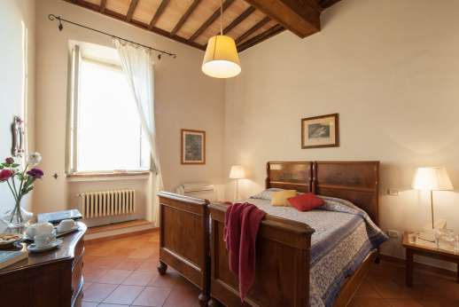 Santi Terzi - Air conditioned double bedroom