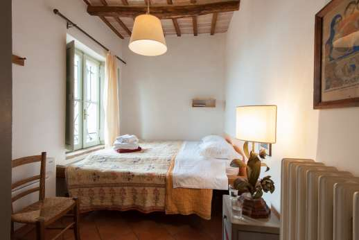 Santi Terzi (x 14 people) with Staff and Cook - Air conditioned double bedroom