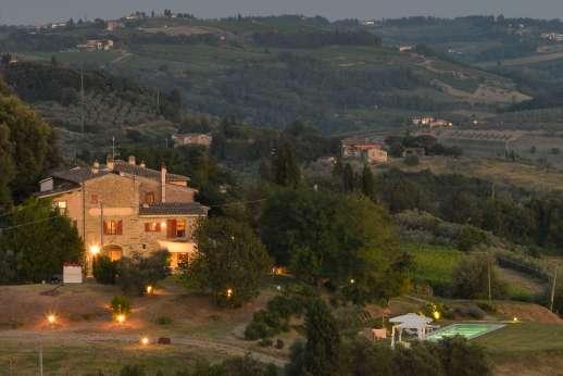 Tenuta Almabrada - Tenuta Almabrada, western edge of the Chianti; Tuscany.