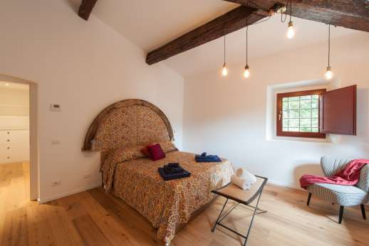 Tenuta Almabrada - Air-conditioned double bedroom