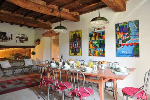 The Estate Of Petroio - Il Borgo di Petroio breakfast room.