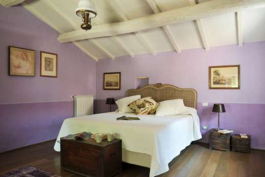 The Estate Of Petroio - Il Borgo di Petroio air-conditioned double bedrooms.