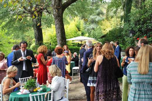 Weddings at The Estate of Petroio - A brilliant setting for all the guests.