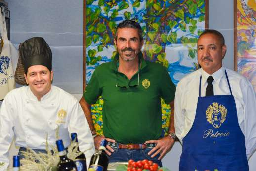 The Estate of Petroio with Staff and Cook