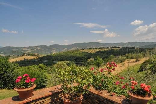 Val di Castello - Val di Castello's view of the Chianti.