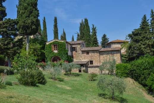 Val di Castello - A 15th century farmhouse set in the heart of the Chianti.