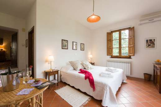Val di Castello - Another of the double bedrooms.