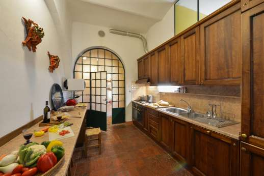 Vecchia Fattoria - A well equipped kitchen.