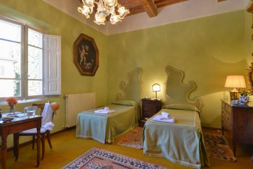 Vecchia Fattoria - Air conditioned twin bedroom