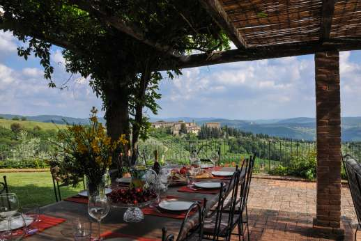 Villa al Monte - Villa al Monte enjoys one of the most picturesque and sort after views of the Chianti.