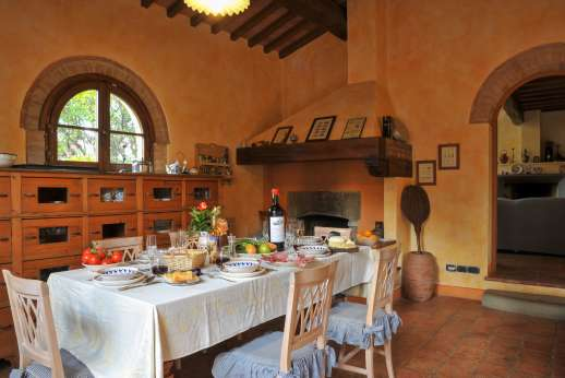 Villa Altea - Air conditioned kitchen with dining table is the heart to this wonderful villa, with high end appliances.