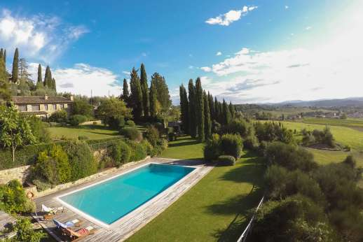 Villa Altea (x 8 people) with Staff and Cook - Villa Altea, Chianti, close to San Gimignano. Tuscany.